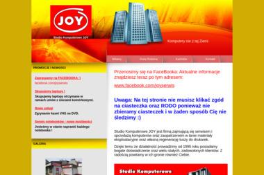 Joy. Studio Komputerowe. Sprzedaż i Serwis Komputerów - Serwis Komputerowy Kędzierzyn-Koźle