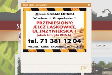 PPHU Skład Opału S.J. Mieczysław Szczepański - Sprzedaż Ekogroszku Oława