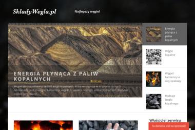 Składywęgla.pl. Sprzedaż węgla - Skład węgla Ostróda