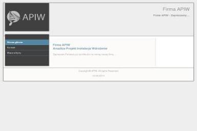 Analiza Projekt Instalacja Wdrożenie Apiw Sławomir Cichecki - Strony internetowe Brzeziny