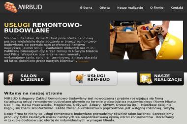 Mirosław Bednarski Mirbud Usługowy Zakład Remontowo Budowlany - Budowa domów Nowe Miasto nad Pilicą