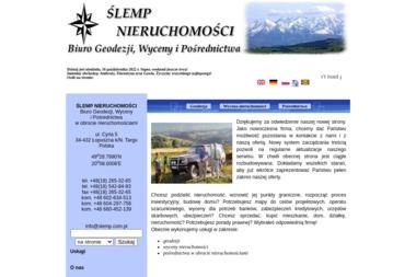 Ślemp Nieruchomości Biuro Geodezji, Wycenyi Pośrednictwa - Geodeta Łopuszna