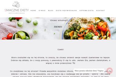 SmaczneDiety.pl. Catering, catering dietetyczny - Gastronomia Bielsko-Bia艂a