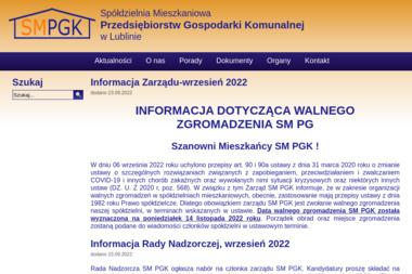 Spółdzielnia Mieszkaniowa Przedsiębiorstw Gospodarki Komunalnej w Lublinie - Wywóz Gruzu Lublin
