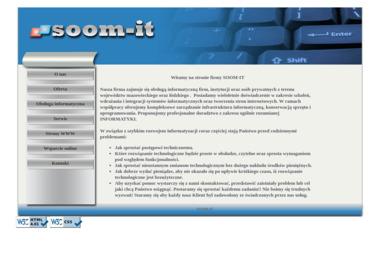 Soom-It Jarosław Sumiński Serwis Komputery. Komputery, serwis komputerowy - Pozycjonowanie stron Żyrardów