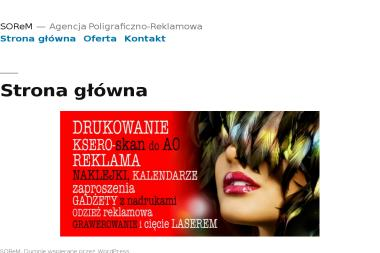 Agencja Poligraficzno-Reklamowa SOReM. Robert Sobieraj - Zdjęcia do dokumentów Granice