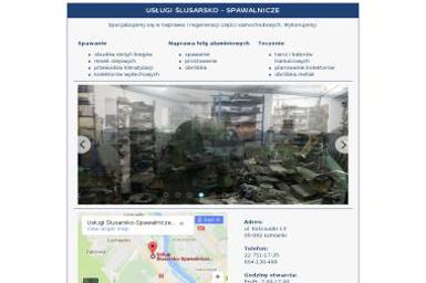 Usługi Ślusarsko-Spawalnicze - Tokarz Łomianki