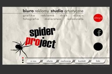 Spider Project-Biuro Reklamy, Studio Artystyczne - Usługi Poligraficzne Pajęczno