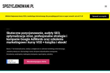 Agencja interaktywna Fresh Corp - Pozycjonowanie Stron WWW Rybnik