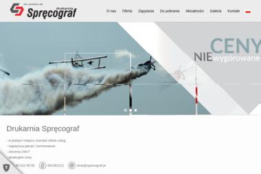 Zakład Poligraficzny Spręcograf  s.c. - Naklejki Dywity