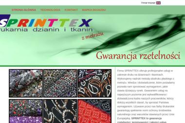 Sprinttex - Druk katalogów i folderów Rzepki