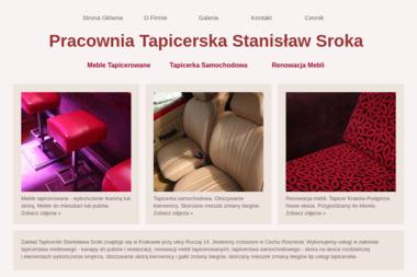 Tapicer. Stanisław Sroka - Tapicer Kraków