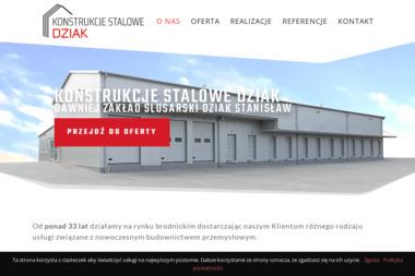 Zakład Ślusarski Dziak Stanisław. Konstrukcje stalowe, hale stalowe - Ślusarz Osiek