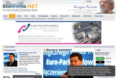 Stalowka.NET - Portal Miasta Stalowa Wola - Strony internetowe Stalowa Wola