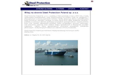 Steel Protection Poland Sp. z o.o. - Piaskowanie na Mokro Gdynia