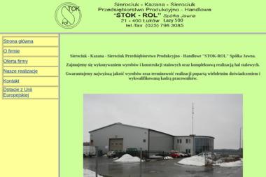Stok-Rol Sp.j. PPH - Konstrukcje stalowe Łazy