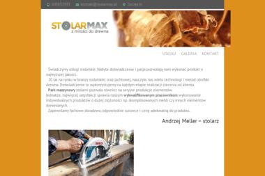 Stolarmax. Stolarz, stolarnia - Schody Metalowe Tanowo