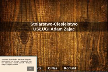 Usługi Stolarskie. Adam Zając - Schody Drewniane Na Beton Dłużyna