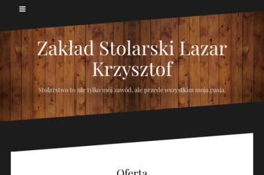 Zakład Stolarski Lazar Krzysztof. Stolarz, stolarstwo - Schody Dywanowe Jastrzębie-Zdrój