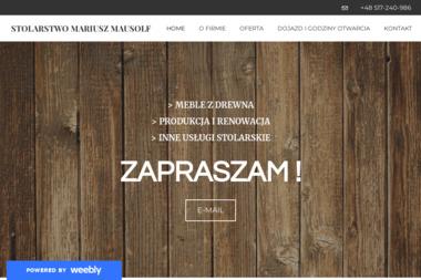Stolarstwo Mariusz Mausolf - Nowoczesne Kuchnie Toruń