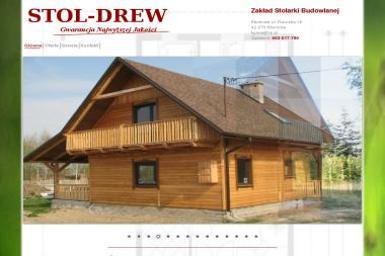 Stol-Drew. Stolarstwo, domy drewniane - Domy Kanadyjskie Kłomnice