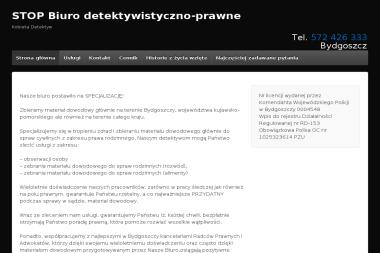 STOP Biuro Detektywistyczno-Prawne - Detektyw Bydgoszcz