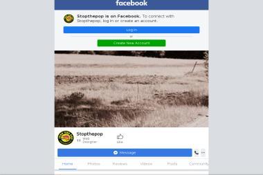 StopThePop. Komunikacja, promocja - Strony internetowe Biała Podlaska