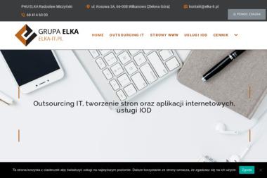 PHU Elka Pozycjonowanie i tworzenie stron www - Pozycjonowanie stron Zielona Góra