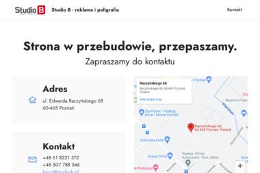 Studio B Studio Reklamy - Kosze prezentowe Poznań