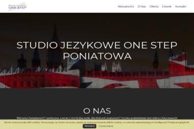 Studio Językowe One Step - Szkoła językowa Poniatowa