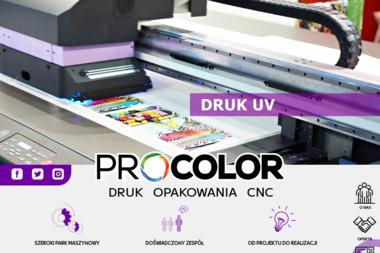 PPHU Procolor Paweł Cieśla. Reklama, drukarnia wielkoformatowa - Ulotki Świdnica