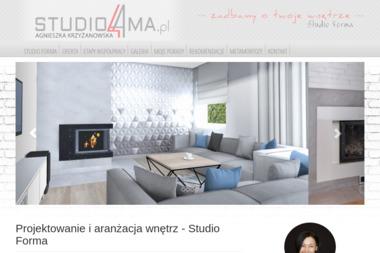 Studio Projektowania Wnętrz Forma Agnieszka Krzyżanowska-Łyszkowicz - Projektowanie wnętrz Olsztyn