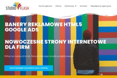 Studio Flash. Strony www, wizytówki - Agencja interaktywna Suwałki