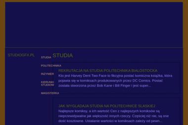 Studio GFX - Usługi Graficzne Legnica