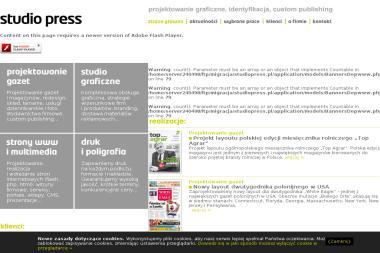 Studio Press - Wykonanie Strony Internetowej Tychy