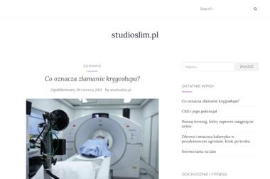 StudioSlim. Wyszczuplanie, zabiegi na ciało, masaże - Masaż Wrocław