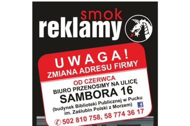 01 Studio Reklamy Smok - Drukarnia Puck