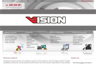 Studio Reklamy Vision - Druk katalogów i folderów Koszalin