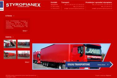 Styropianex. Produkcja i sprzedaż styropianu. Eugeniusz Bucior - Firma Transportowa Leżajsk