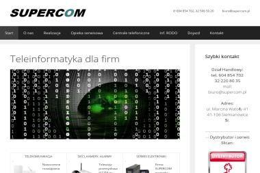 Supercom - Serwis komputerowy - Centrale Telefoniczne Siemianowice Śląskie