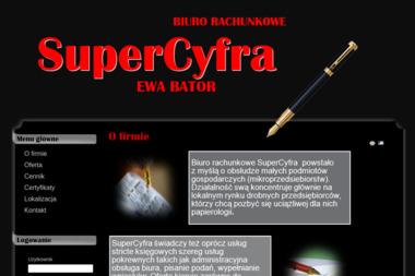 Supercyfra Ewa Bator - Usługi finansowe Łąck