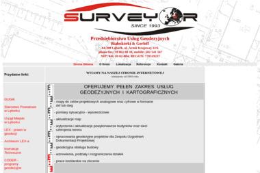 Przedsiębiorstwo Usług Geodezyjnych Surveyor Dariusz Białoskórski Sławomir Gorloff - Geodeta Lębork