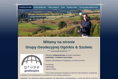 Grupa Geodezyjna s.c. Ogórkis-Szulwic - Geodeta Suwałki