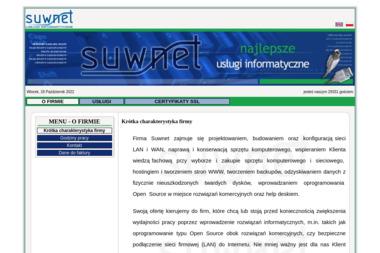 Suwnet Usługi Informatyczne Kuźma Mariusz - Agencja interaktywna Suwałki