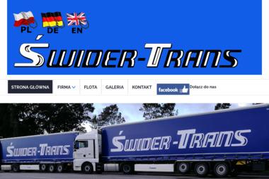 Świder Trans - Firma transportowa Słubice