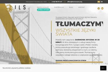 ILS Agencja Tłumaczeń. Tłumaczenia przysięgłe, tłumaczenia zwykłe - Tłumacze Szczecin