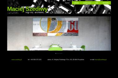 Architekt Maciej Szediwy - Inspektor Nadzoru Budowlanego Pruszków