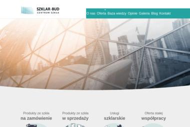 Szklar-Bud Centrum Szkła - Balustrady szklane Grudziądz