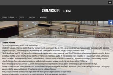 Zakład Szklarski. Jarosław Kobierski - Szklarz Łódź