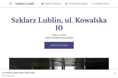 Szklarz na Kowalskiej - Szklarz Lublin